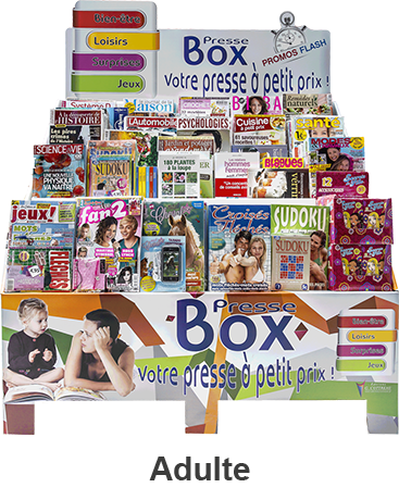 Presse Box® Adulte
