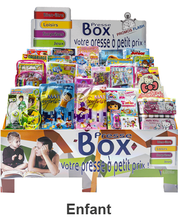 Presse Box® Enfant