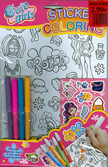 Stickers Coloring