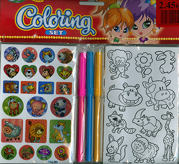 Coloring Set