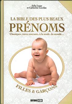 La bible des plus beaux prénoms